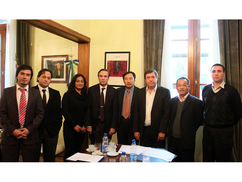 El gobernador de Río Negro recibió a representantes de la MCC